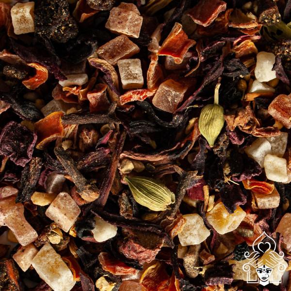 Teehaus Shila, Früchtemix Masala Chai