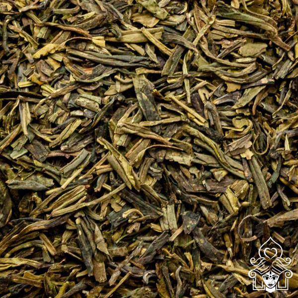 Teehaus Shila, China Lung Ching Drachenbrunnen