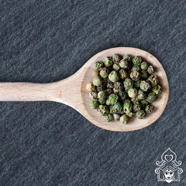 Teehaus Shila, Gewürze Pfeffer grün ganz