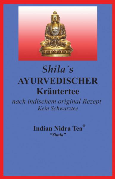 Teehaus Shila, Ayurvedischer Kräutertee